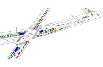 交通シミュレーション